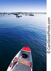 Arrecife Lanzarote boats in harbour at Canaries - Arrecife...