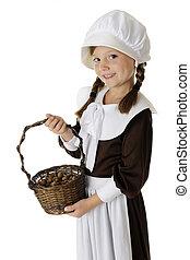 Acorn Collecting Pilgrim