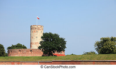 forteca, Sławny, Polska,  Gdańsk,  wisloujscie
