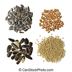 Raw Grains Set