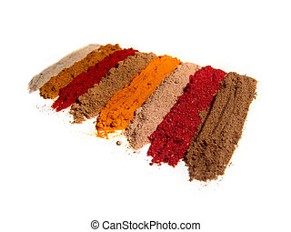 Indian spices - Range of spices Indian spices. 8 pcs....