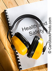 Hälsa,  register, säkerhet, hörlurar