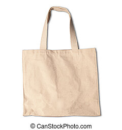clothes bag isolated white backgrou - cotton clothes bag...