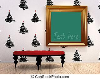 frame for artwork.