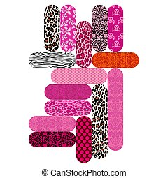 Nail Files - Nail files with a variety of patterns