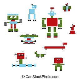 Robots Collection-2 - A collection of robot machines and...