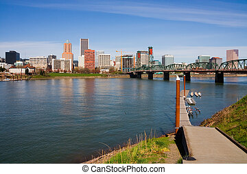 Portland, Oregon - Portland downtown