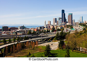 Downtown Seattle - Seattle, Washington State