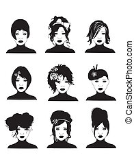 Hairstyles - Female hairstyles