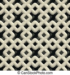 Concrete vent. Seamless pattern.