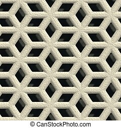 Concrete vent Seamless pattern