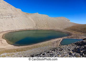"""Lac des Garrets - Image of """"Lac des Garrets"""" (262 m) located..."""