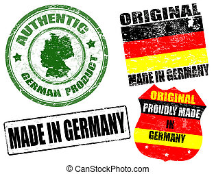 Made in Germany stamps