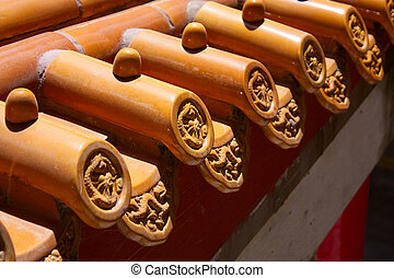 traditional Chinese style eaves