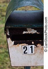 letter box colour