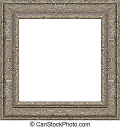 pewter frame - nice award certificate photo or picture frame...