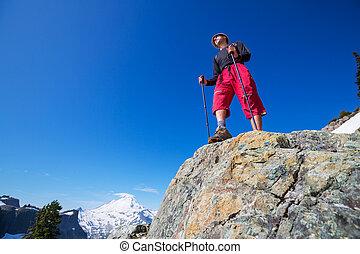 Hike in Baker area - hiking in Mt.Baker area, Washington