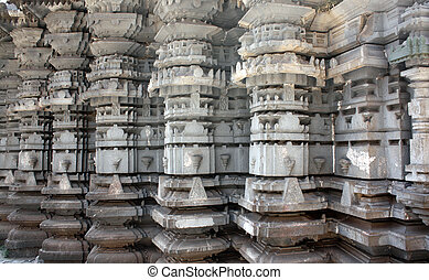 Ancient Indian Architecture - A view of the architecture of...
