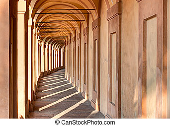 Portico di San Luca, Bologna, Iraly: the porch that connects...