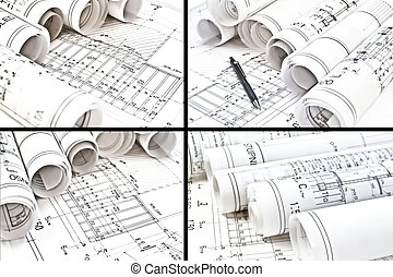 architectural drawing blueprints
