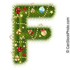 Abstract beauty Christmas and New Year abc vector...