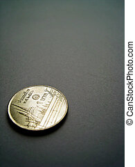 One baht coin
