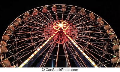Ferris Wheel - Ferris wheel at amusement park