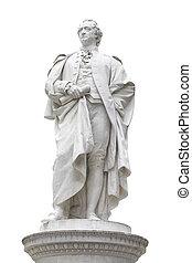 Wolfgang von Goethe statue - Statue of Johann Wolfgang von...