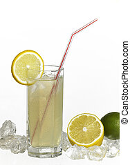soft drink - studio photography of a translucent soft drink...