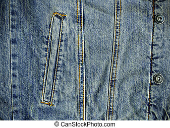 Denin Pocket and Metal Stud Details