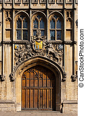 Entrance to All Souls College, Oxford - The entrance to All...