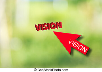Business ideas - business idea ny red vision arrow selecting...
