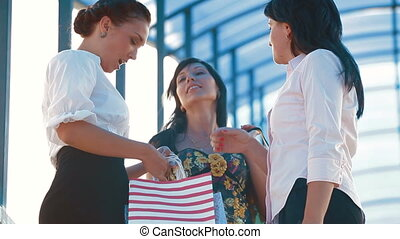 Three Women Shopping
