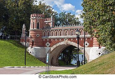 Tsaritsyno Park,Moscow