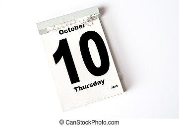 10. October 2013