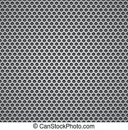 Metal grill seamless pattern. - Metal grill seamless...