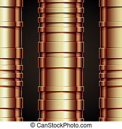 Copper pipeline seamless pattern - Copper pipeline seamless...