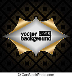 Vector background with patterns