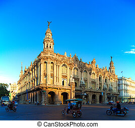 Great Theatre, old town, Havana, Cuba