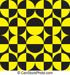 Black and yellow target 2 plus 3 and i inverse - Black and...
