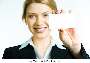 ビジネス, カード