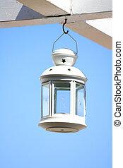 Old lantern hanging