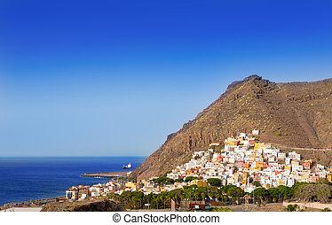 San Andres beach Las Teresitas Santa cruz de Tenerife - San...