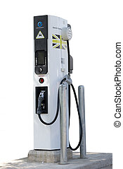 Electric car charger cut out - electric car charging station...