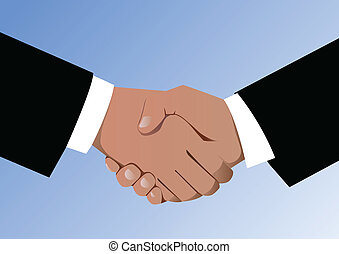 Agreement and handshake