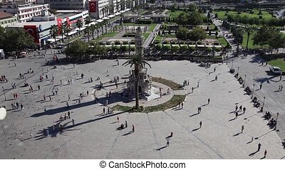 konak square at Smyrna turkey