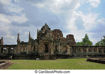 Muang Tam Sanctuary horizonal front view - This picture was...