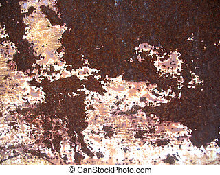 texture of iron  material