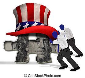 Pushing America.