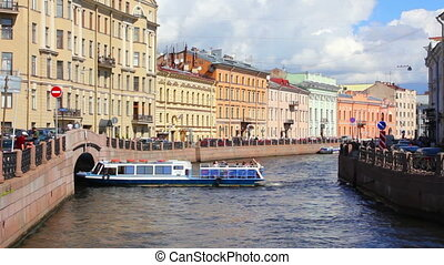 Moika River in St. Petersburg